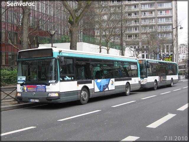Renault Agora S – RATP (Régie Autonome des Transports Parisiens) / STIF (Syndicat des Transports d'Île-de-France) n°7626