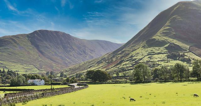 Lake District Landscape.