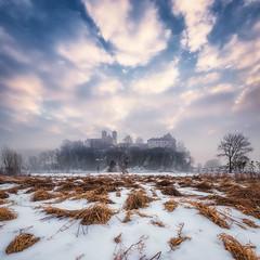 Benedictine abbey in Tyniec, Poland.