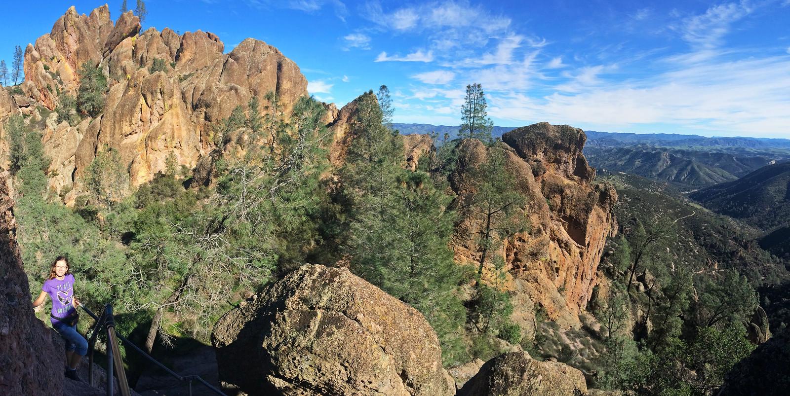 High Peaks Trail, Pinnacles National Park, CA, USA