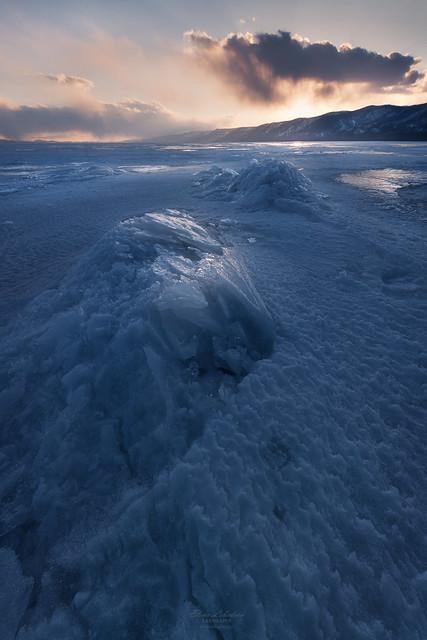 Evening light at the Baikal