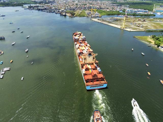 Maersk Menphis - Santos - Brazil