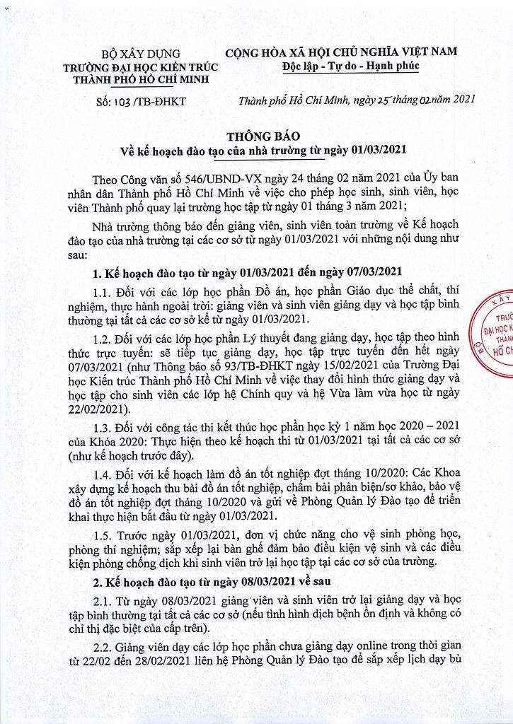 103- Thong bao ve ke hoach dao tao cua nha truong tu ngay 01.03.2021_Page_1