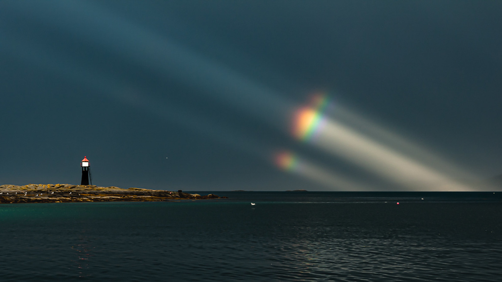 Regnbuestråler-Tranøy