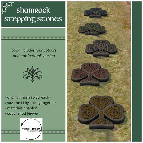 Widdershins - Shamrock Stepping Stones - H&G Expo Hunt Prize