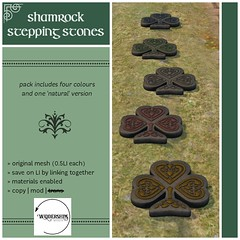 Widdershins - Shamrock Stepping Stones - H&G Expo Hunt Prize