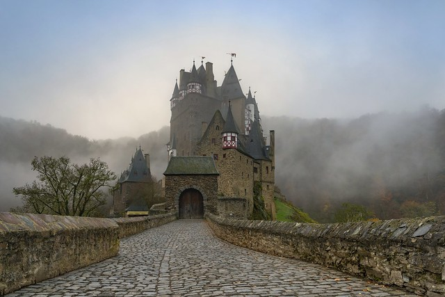 *Eltz Castle in the morning light*