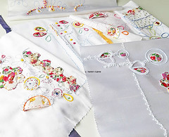 embroidered samples
