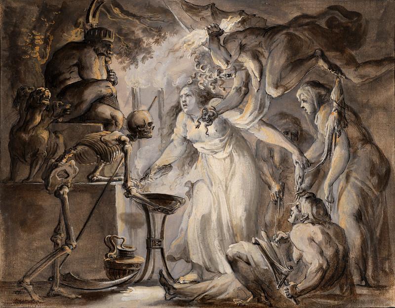 Giovanni David - A Nightmare, 1775-80