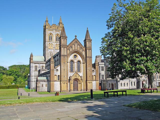 L1360307 - Buckfast Abbey - The Abbey Church of St Mary - Devon