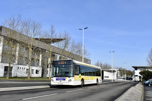 La Rochelle - HeuliezBus GX 337 - 19/02/21