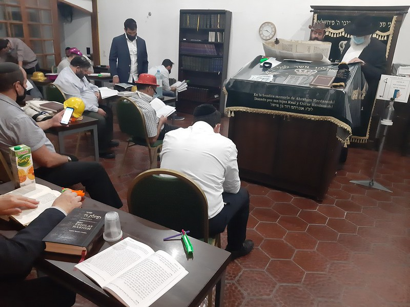 Purim 5781 en Beit Jabad Mendoza