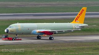 Pegasus A320-251N 10527 F-WWIH / TC-NCZ