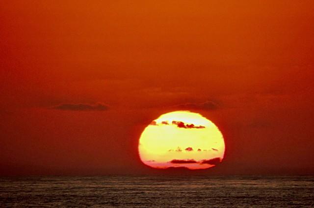 Sunset at al-Jadida, Morocco