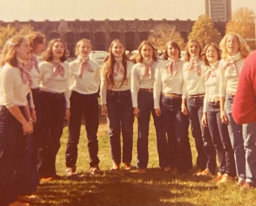 Tailgating at Cornell - Fall 1976