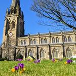 The Preston Parish Church at Spring