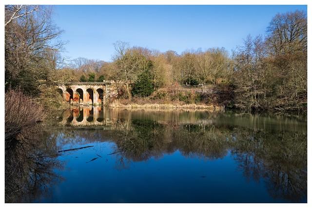 Bright Noon Light on Viaduct Pond …