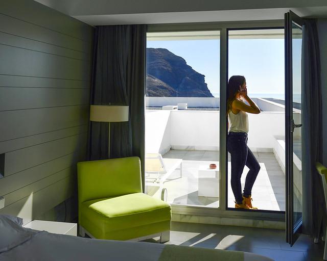 Nuestro hotel en Cabo de Gata