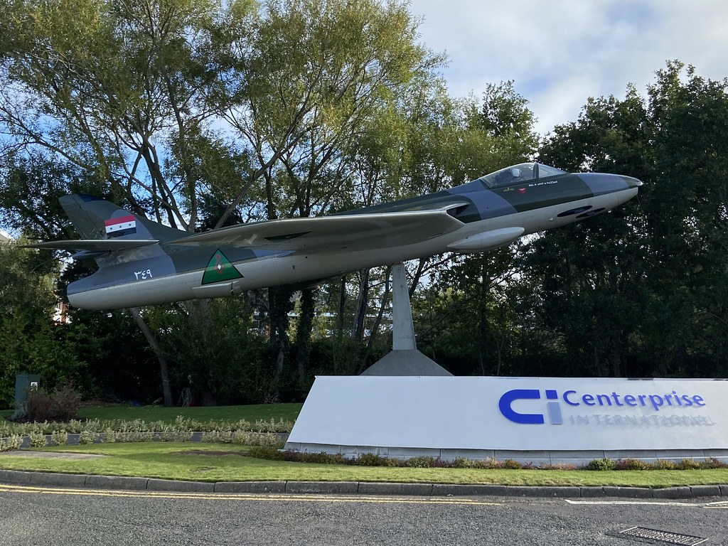 (E-408)/349, Hawker Hunter F.51, On Display, Danish (41H-680267), Chineham 27th September 2020
