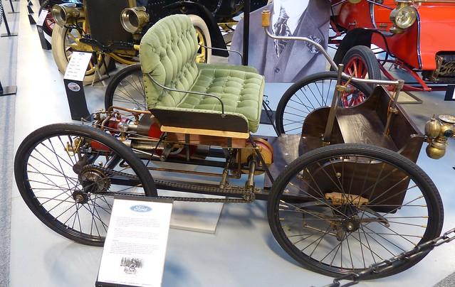 1896 Ford Quadricycle replica ro