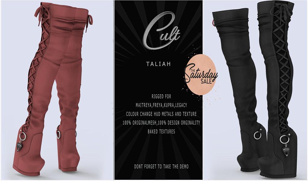 : CULT : Taliah with HUD