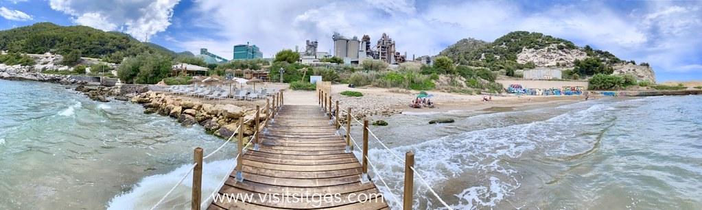 Playa-vallcarca-sitges