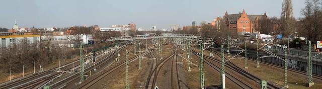 Berlin Panorama Südkreuz 23.2.2021