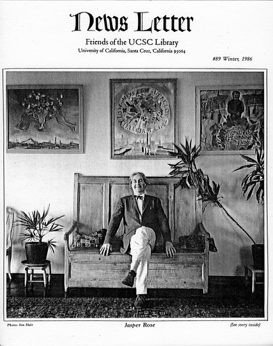 UCSC Library Newsletter 86 Winter Jasper Rose #73110512