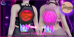 *NW* Glitter Goth Backpack