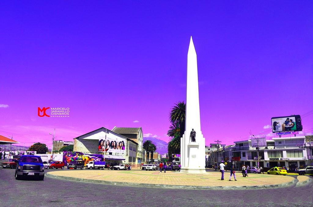 El Obelisco - Ciudad de Ibarra