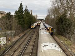 passing trains, Shortlands