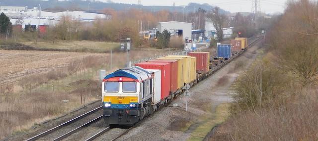66747 - Barton south Junction, Staffordshire