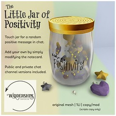 Widdershins - Little Jar of Positivity - H&G Expo New Release