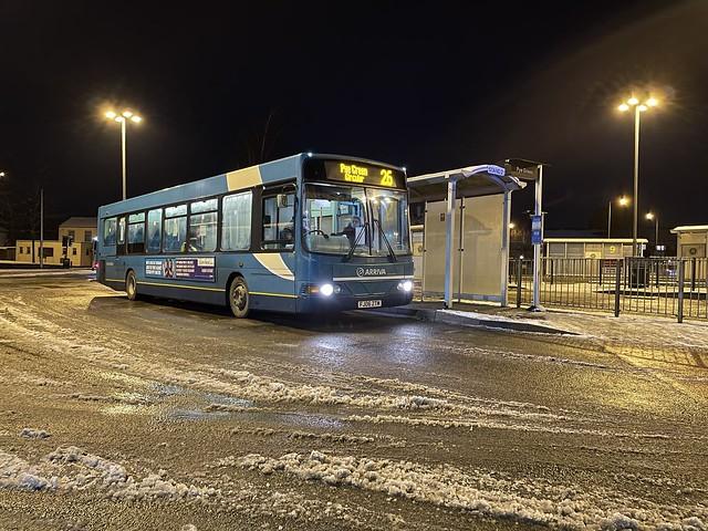 Arriva Midlands 3725 FJ06ZTM - Cannock