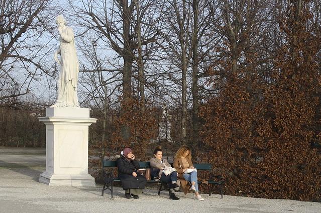 Three Women in Schönbrunn