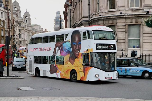 Go Ahead London Central - LT434 - LTZ1434 - Kurt Geiger