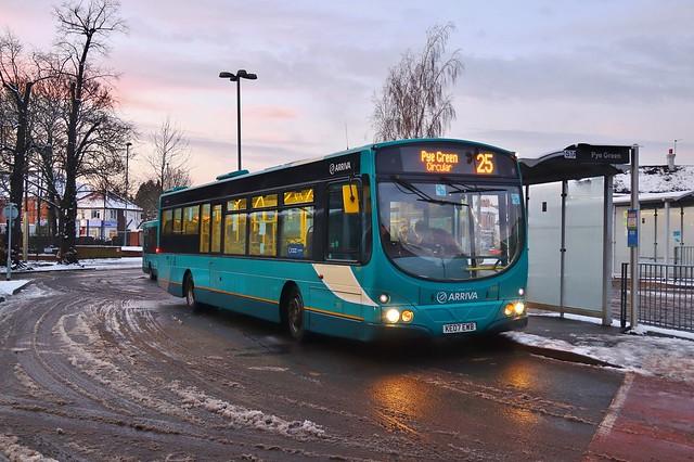 Arriva Midlands 3931 KE07EWB - Cannock
