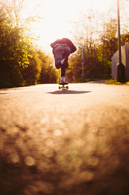 Golden hour push with Filip Baxa