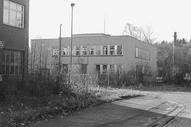 Building at the formerly german naval air base, Marinefliegergeschwader 5 Kiel-Holtenau