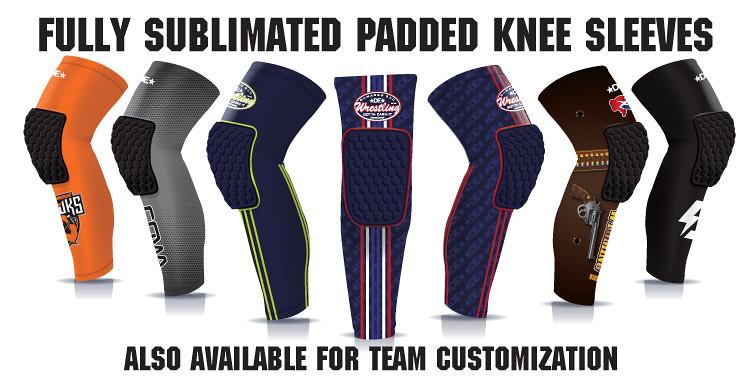 In-Stock Padded Knee Sleeves