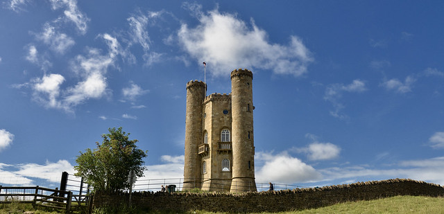 ANOTHER VIEW OF BROADWAY TOWER