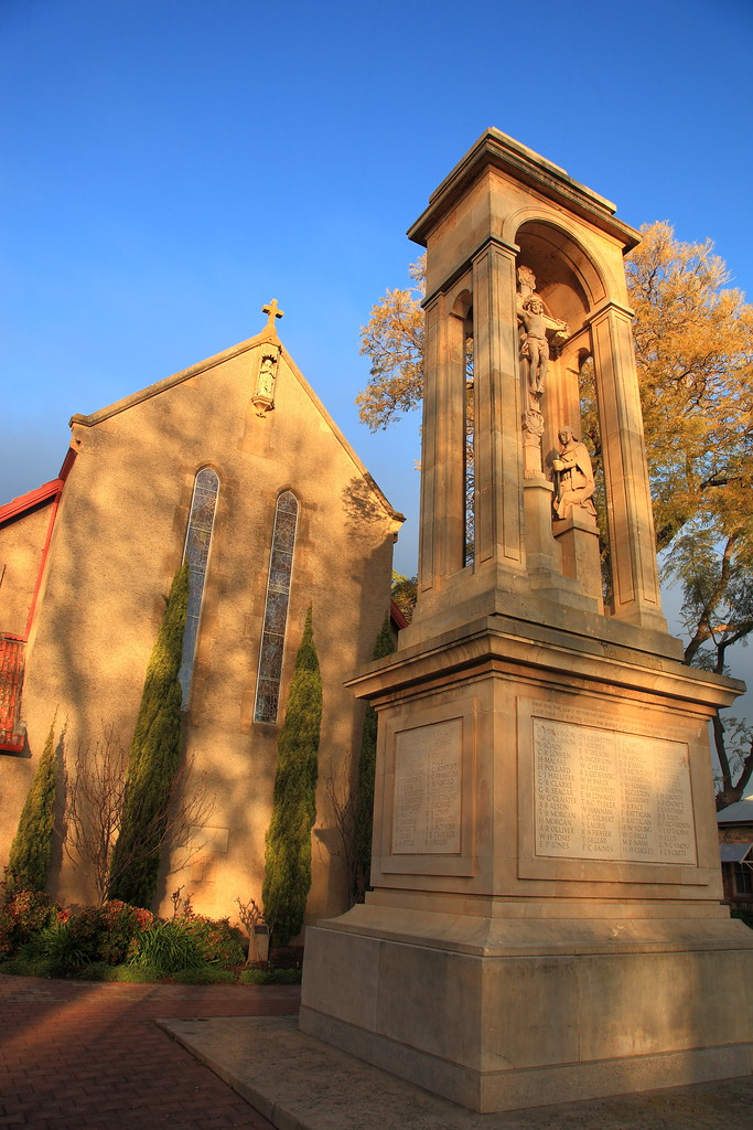 St. George the Martyr Anglican Church and War Memorial