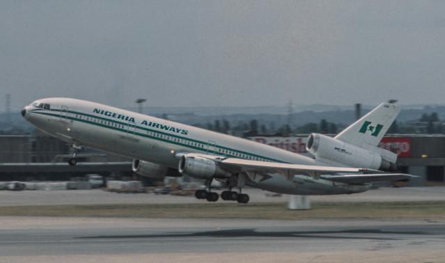 5N-ANR Nigeria Douglas DC-10-30 @ LHR 1983