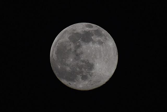 Tonight's 'Snow Moon'