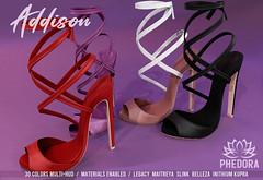"Phedora.- ""Addison"" heels available at Uber ♥"