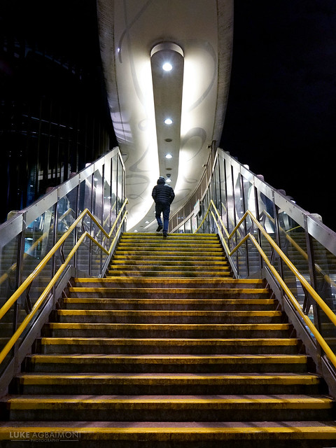 Walking Towards The Light - Langdon Park