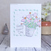 PB Heart Day potted plant card