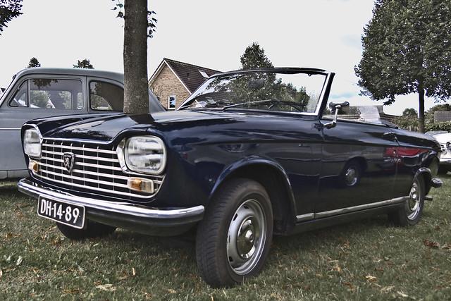 Peugeot 204 Cabriolet 1967 (7043)