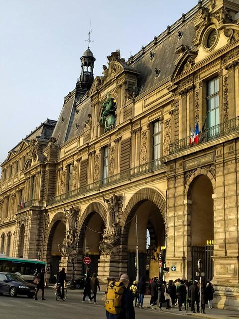 140 - Paris en Février 2021 -  le Louvre