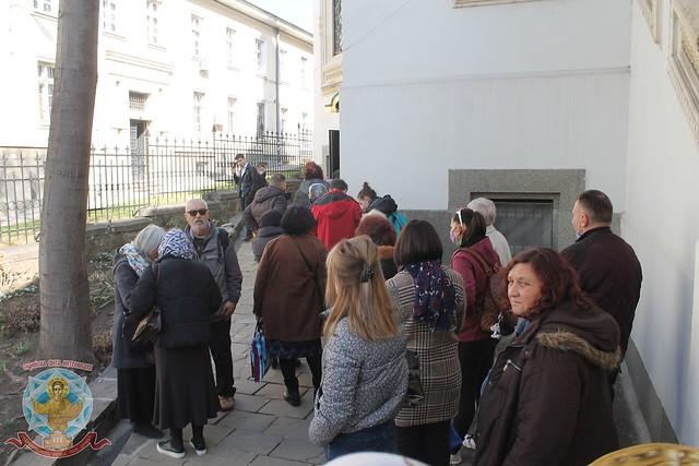 Архиерейска св. Литургия по повод празника и годишнина от канонизацията на св. Серафим Софийски 26.02.2021 г.